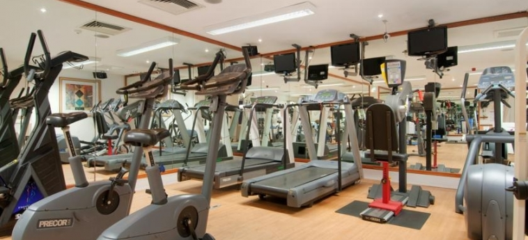 Doubletree By Hilton Hotel Bristol North: Gym BRISTOL