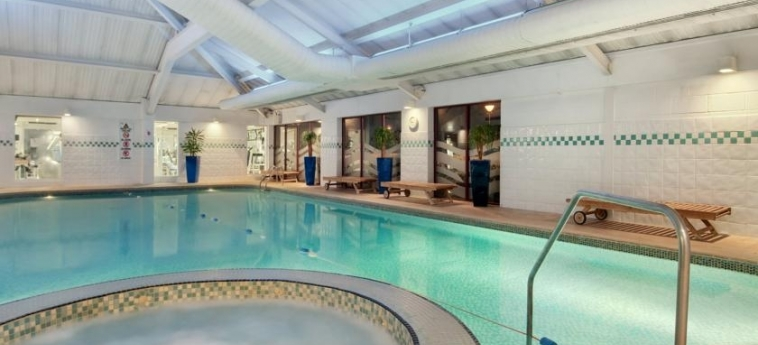 Doubletree By Hilton Hotel Bristol North: Indoor Swimmingpool BRISTOL