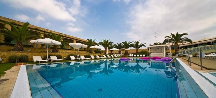 Hotel Venus Sea Garden: Solarium BRUCOLI - SIRACUSA