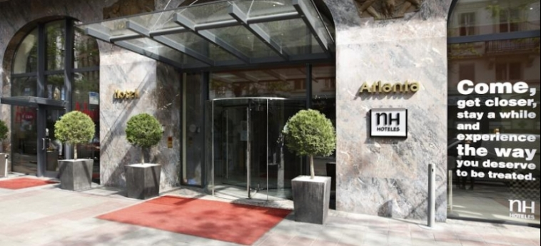Hotel Nh Collection Brussels Centre: Entrada BRUSELAS