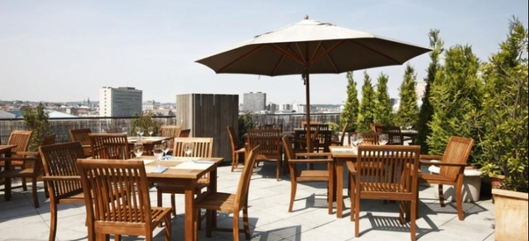 Hotel Nh Collection Brussels Centre: Terraza BRUSELAS