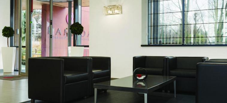 Hotel Ramada Brussels Woluwe: Lobby BRUSELAS