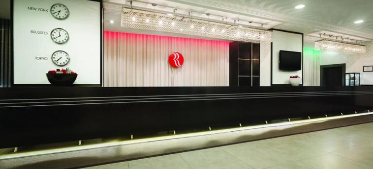 Hotel Ramada Brussels Woluwe: Reception BRUSELAS