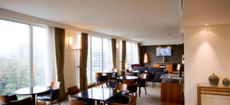 Hotel Crowne Plaza Brussels Airport: Lounge BRUSSEL