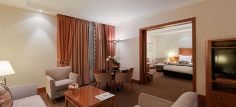Hotel Crowne Plaza Brussels Airport: Suite BRUSSEL