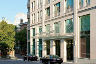 Hotel Sofitel Brussels Europe: Exterior BRUSSELS