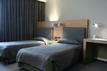 Tangla Hotel Brussels: Chambre jumeau BRUXELLES