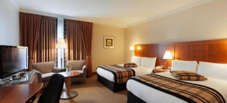 Hotel Crowne Plaza Brussels Airport: Chambre jumeau BRUXELLES