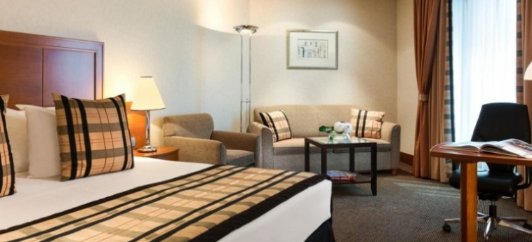 Hotel Crowne Plaza Brussels Airport: Chambre BRUXELLES