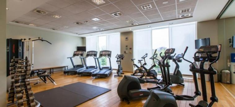 Hotel Crowne Plaza Brussels Airport: Salle de Gym BRUXELLES