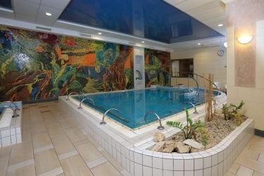 Danubius Grand Hotel Margitsziget: Piscine chauffée BUDAPEST