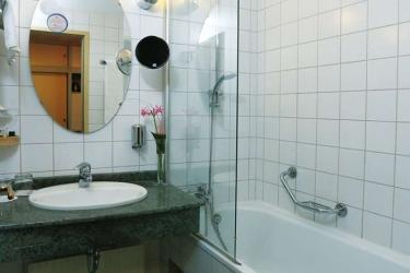 Danubius Grand Hotel Margitsziget: Gastzimmer Blick BUDAPEST