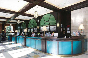 Danubius Grand Hotel Margitsziget: Reception BUDAPEST