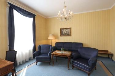 Danubius Grand Hotel Margitsziget: Suite Room BUDAPEST