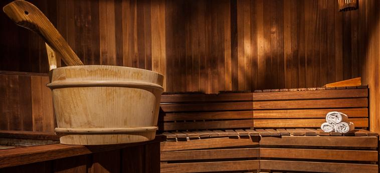 Danubius Hotel Helia: Sauna BUDAPEST