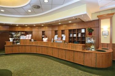 Hotel Danubius Health Spa Resort Margitsziget: Recepción BUDAPEST
