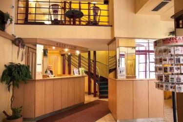 Hotel Pilvax: Lobby BUDAPEST