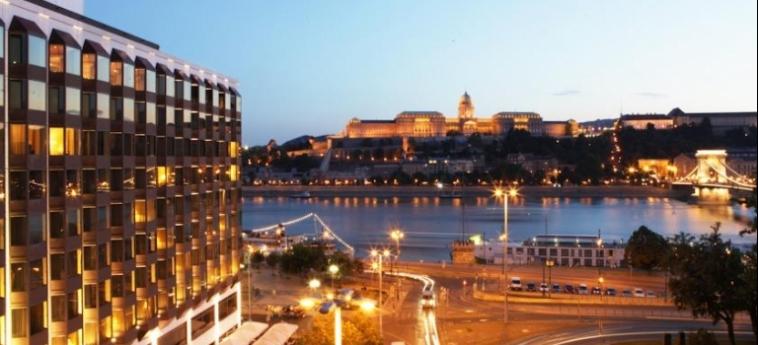 Hotel Sofitel Budapest Chain Bridge: Esterno BUDAPEST