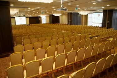 Hotel Aquaworld Resort Budapest: Sala de conferencias BUDAPEST