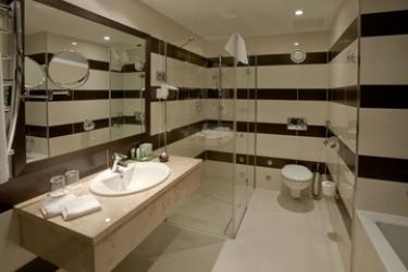 Hotel Aquaworld Resort Budapest: Salle de Bains BUDAPEST