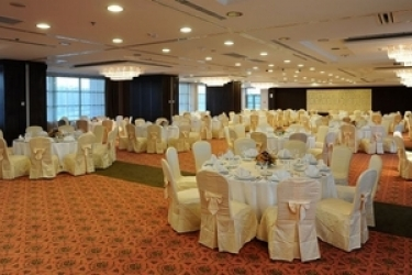 Hotel Aquaworld Resort Budapest: Salle de Banquet BUDAPEST