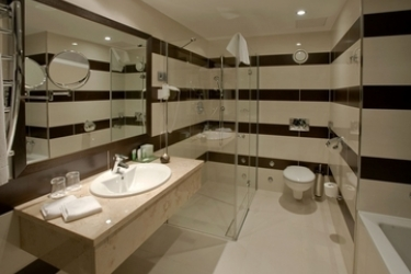 Hotel Aquaworld Resort Budapest: Badezimmer BUDAPEST