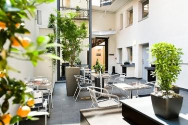 Opera Garden Hotel & Apartments: Giardino BUDAPEST