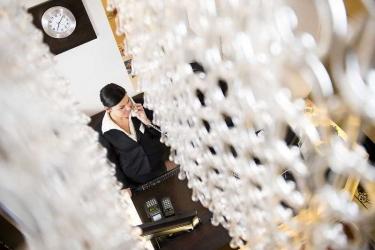 Opera Garden Hotel & Apartments: Lobby BUDAPEST