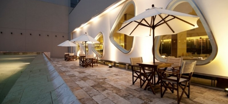 Hotel Dazzler Recoleta: Terrace BUENOS AIRES