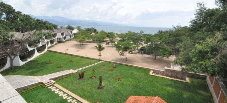Hotel Club Du Lac Tanganyika: Lounge BUJUMBURA