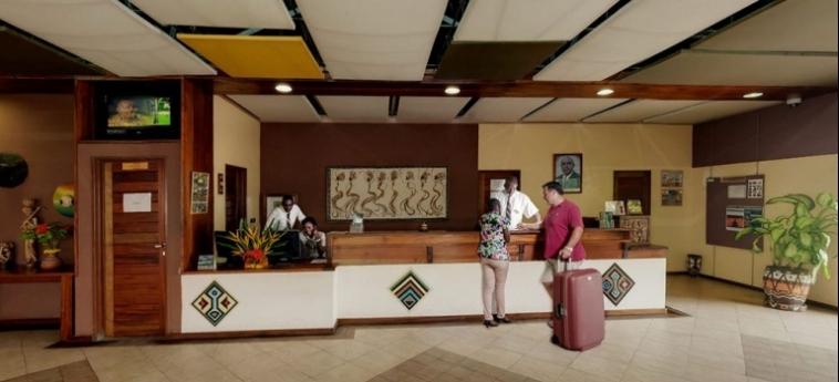Hotel Club Du Lac Tanganyika: Bankettsaal BUJUMBURA