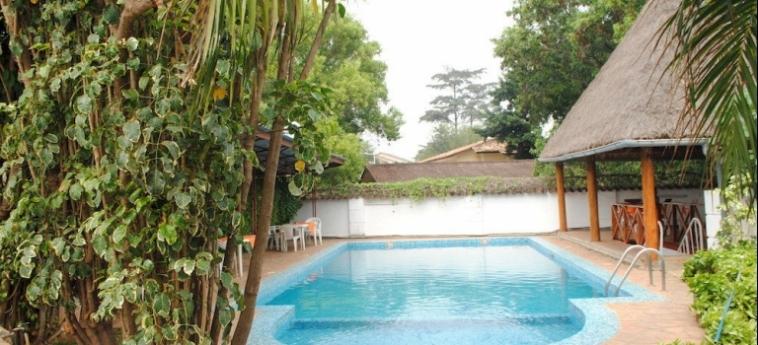 Hotel Kiriri Residence Hôtel: Außenschwimmbad BUJUMBURA
