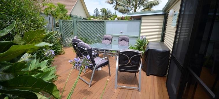 Hotel Cumberland Resort And Spa: Terrace BURNT PINE