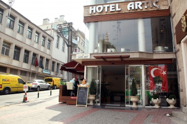 Hotel Artic: Esterno BURSA