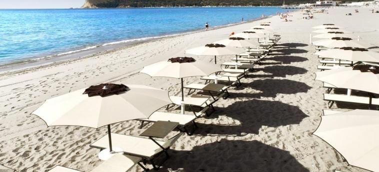 Hotel Sardegna: Spiaggia CAGLIARI