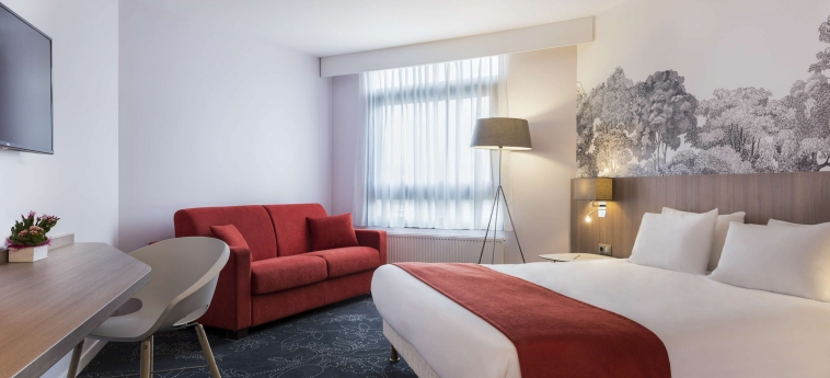 Hotel Holiday Inn Calais Coquelles: Chambre executive CALAIS