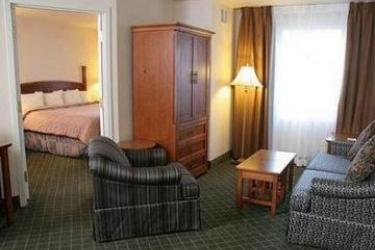 Hotel Staybridge Suites Calgary Airport: Chambre CALGARY