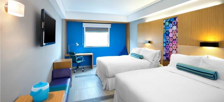 Hotel Aloft Cancun: Chambre jumeau CANCUN
