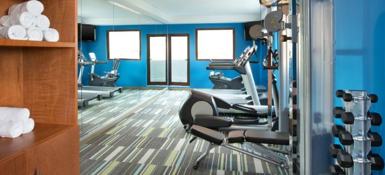 Hotel Aloft Cancun: Salle de Gym CANCUN
