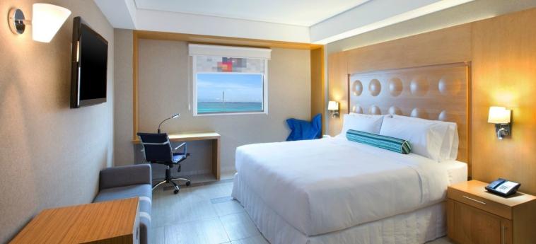 Hotel Aloft Cancun: Schlafzimmer CANCUN