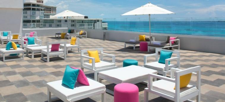 Hotel Aloft Cancun: Terrasse CANCUN