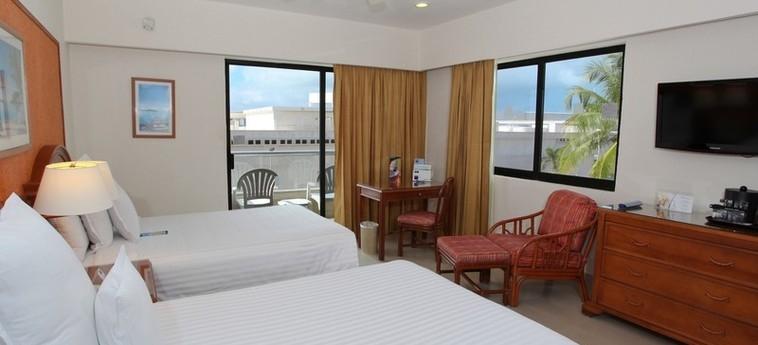 Hotel Occidental Tucancún: Chambre jumeau CANCUN