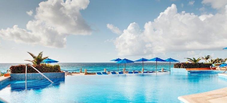 Hotel Occidental Tucancún: Außenschwimmbad CANCUN