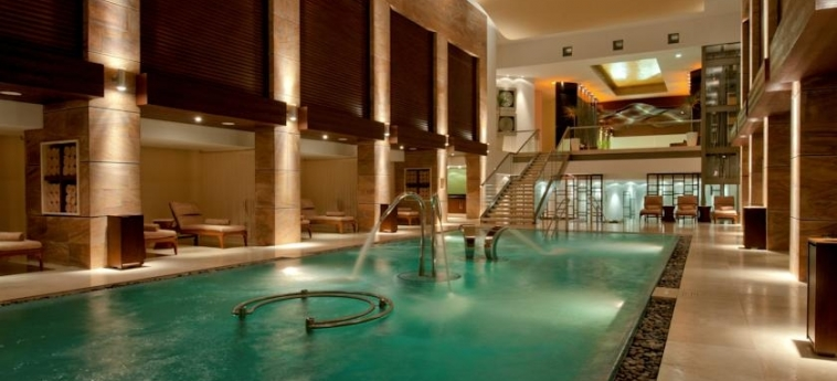 Hotel Grand Fiesta Americana Coral Beach Cancun Resort & Spa: Piscina Cubierta CANCUN