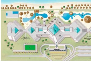 Hotel Paradisus Cancun: Carte CANCUN