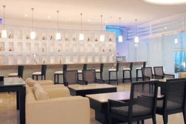 Hotel Le Blanc Spa Resort Cancun: Lounge Bar CANCUN