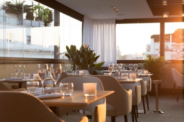Five Seas Hotel Cannes: Restaurante CANNES