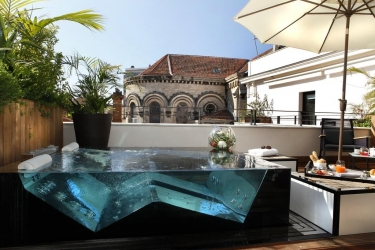 Five Seas Hotel Cannes: Jacuzzi CANNES