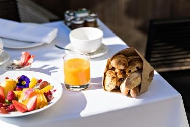 Five Seas Hotel Cannes: Petit Déjeuner CANNES