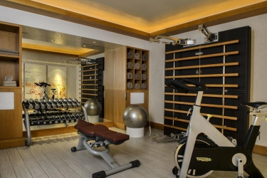 Five Seas Hotel Cannes: Salle de Gym CANNES